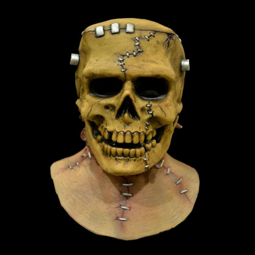 Frankenskull Latex Mask