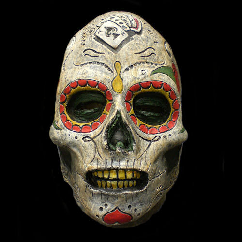 Day of the Dead Zombie Latex Mask