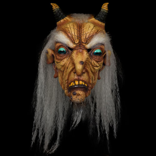 Goat Witch Latex Mask