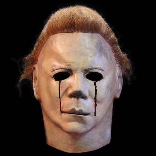 Michael Myers Blood Tears Halloween 2 Latex Mask