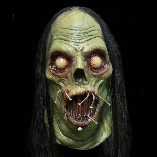 Nail Mouth Latex Mask