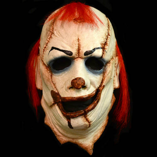 Skinner Clown Latex Mask